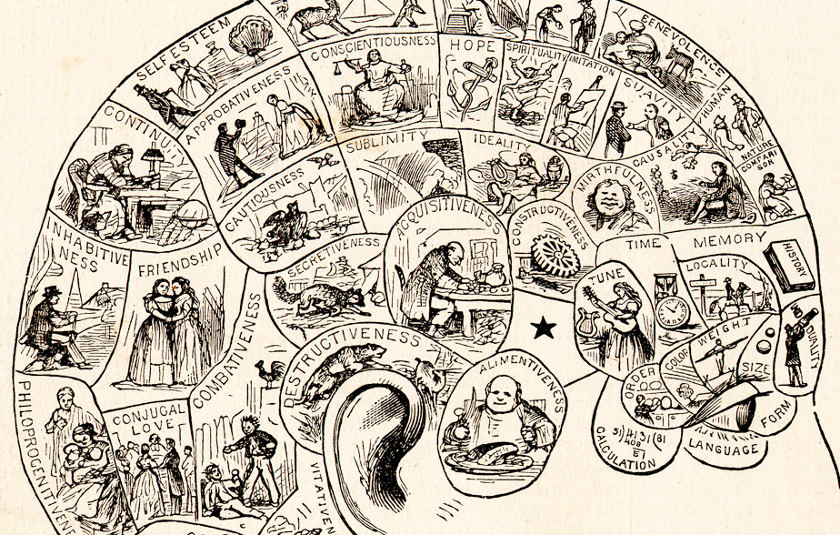 Phrenology. Very scientific.